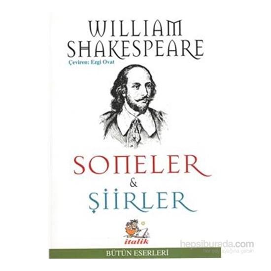 Soneler Şiirler-William Shakespeare