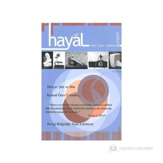 Hayal Kültür Sanat Edebiyat Dergisi Sayı: 31
