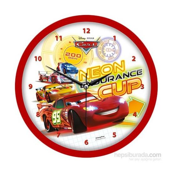 Disney Lisanslı Çocuk Odası Duvar Saati Cars