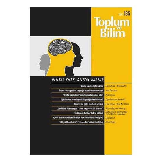 Toplum Ve Bilim Sayı 135-Kolektif