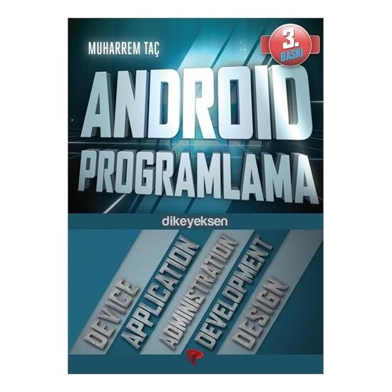 Android Programlama - Muharrem Taç