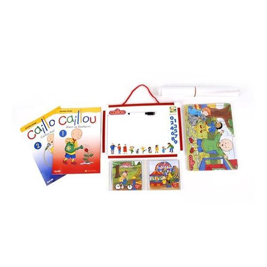 Caillou Eğlenceli Set -1 (Çantalı)