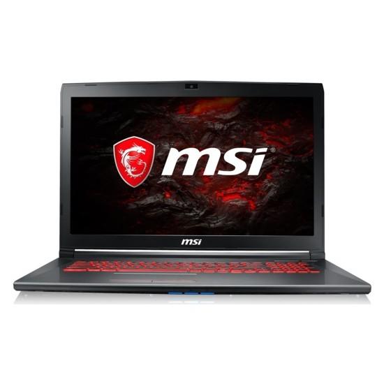 """MSI GV72 7RD-1266XTR Intel Core i7 7700HQ 16GB 1TB + 128GB SSD GTX1050 Freedos 17.3"""" FHD Taşınabilir Bilgisayar"""