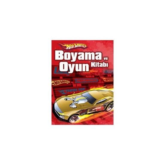 Hot Wheels Boyama Ve Oyun Kitabi Kolektif Fiyati