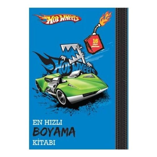 Hot Wheels En Hizli Boyama Kitabi Fiyati Taksit Secenekleri