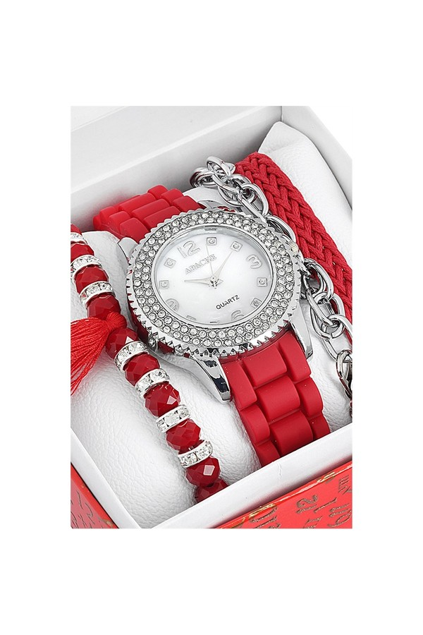 Apache Clock And Watches Bracelet Set 463 394