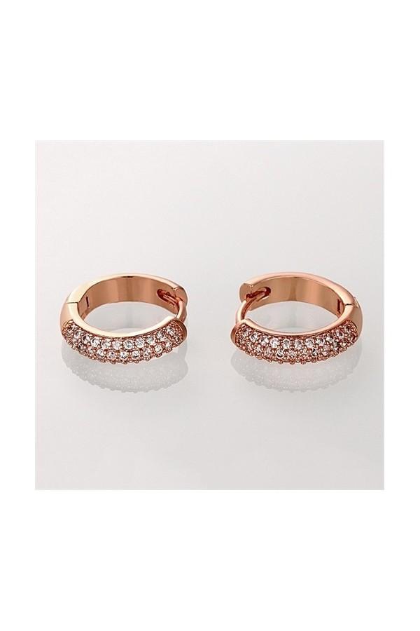 Byzinci Earrings with Zircon Stones