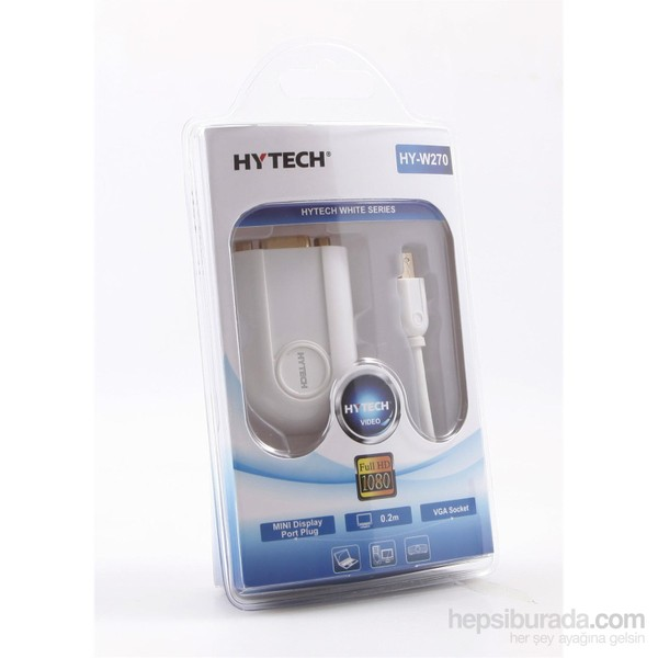 HYTECH HY-W270 MİNİ DİSPLAY ERKEK TO VGA DİŞİ