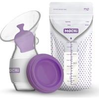Mochi Göğüs Pompası + Anne Sütü 25 Adet Saklama Poşeti