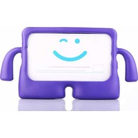 "Canpay Samsung Galaxy T560 (Tab E 9,6"") Çocuk Tablet Kılıfı Standlı Tutmalı Ultra Korumalı Yeni Mor"
