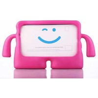 Canpay Huawei T3 7 Inç Çocuk Tablet Kılıfı Standlı Tutmalı Ultra Korumalı Yeni Case Pembe