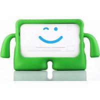 Canpay Samsung Galaxy T500 Çocuk Tablet Kılıfı Standlı Tutmalı Ultra Korumalı Yeni Case Yeşil