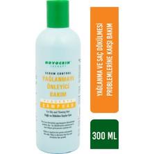 Novocrin Placenta Yağlı ve Dökülen Saçlar Bakım Şampuanı 300 ml