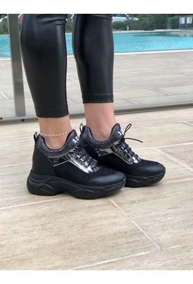 Love Siyah Kadın Sneaker