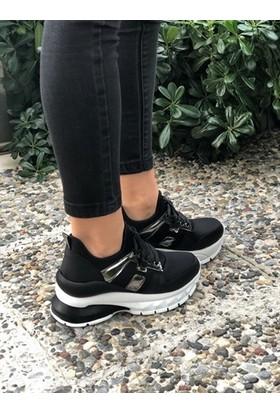 Helen Siyah Kadın Sneaker