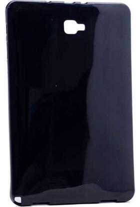 Canpay Samsung Galaxy P580 Uyumlu Kılıf Yumuşak ve Pürüzsüz Ultra Kalite Siyah