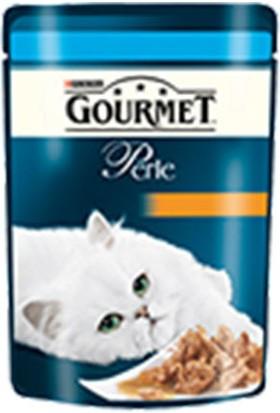 Gourmet Perle Izgara Ton Balık Yetişkin Kedi Pouch 12X85 gr