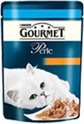 Gourmet Perle Izgara Ton Balık Yetişkin Kedi Pouch 24X85 gr