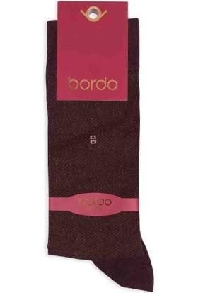 Bordo Bambu Dikişsiz Erkek Çorap EBK1005 | Kahverengi