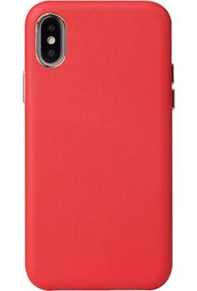 Moserini Apple iPhone x / Xs Max Alpha Case Telefon Kılıfı Kırmızı