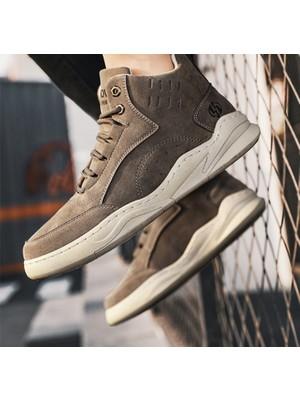 Generic Yüksek Kahverengi Ayakkabı (Yurt Dışından)