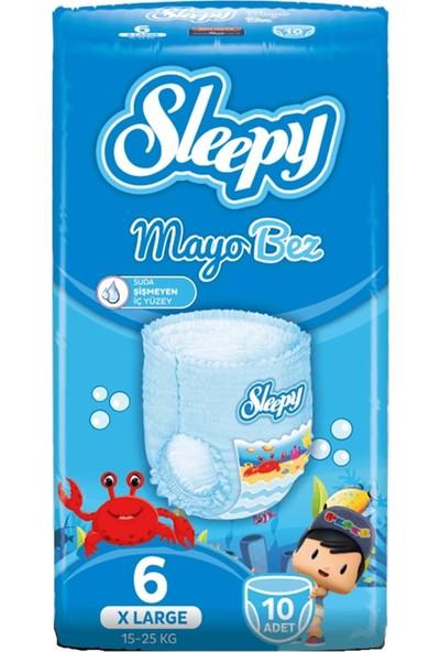 Sleepy Mayo Külot Bez No 6 (15-25 Kg) Xlarge 10 'lu