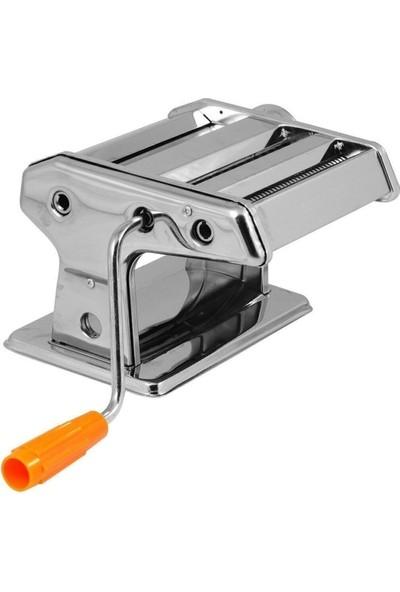 Hometarz Paslanmaz Çelik 150 mm Makarna ve Erişte Makinesi