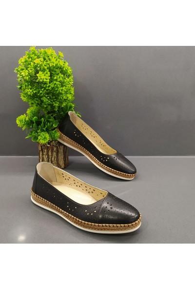 De Scario Kadın Günlük Deri Ayakkabı