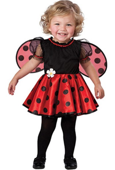 Masal Kostüm Uğur Böceği Bebek Kostümü Bb-21