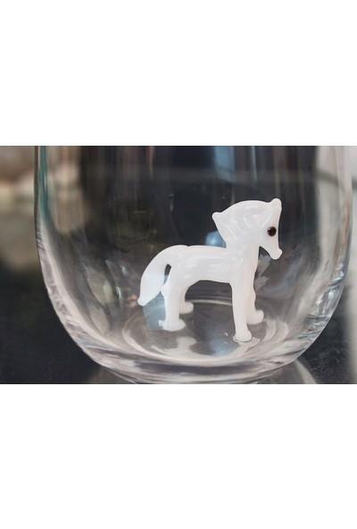 Adamodart At Figürlü 2'li Su Bardağı