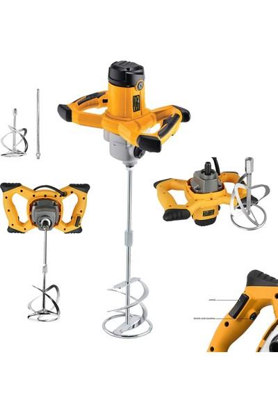 Sturdy Power Tools 3000 Watt Kademe Hız Ayarı Boya ve Harç Mikseri Karıştırıcı