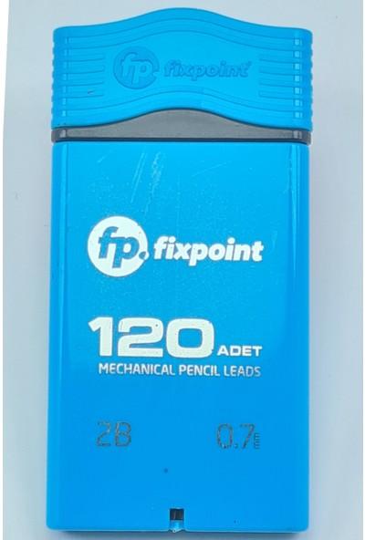 Fixpoint Versatil Kalem Ucu 120'LI Uç 0.7 Uç Mekanik Uçlu Kalem Ucu Mavi