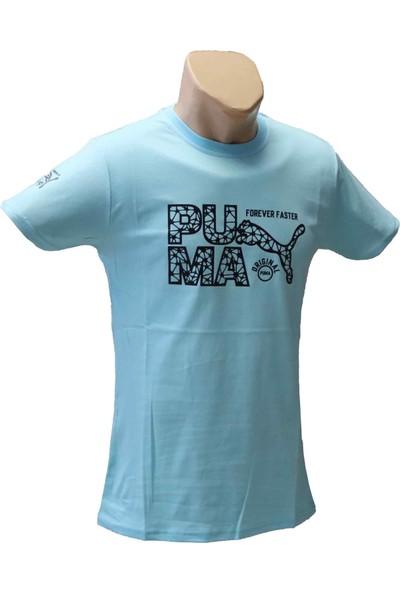 Akyol Erkek Kısa Kol T-Shirt Spor Turkuaz