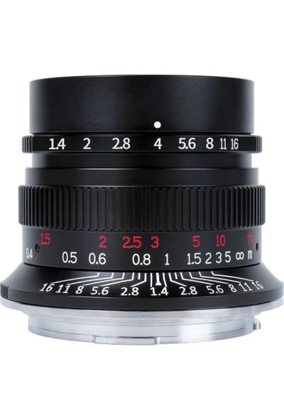 7ARTISANS 35MM F/1.4 Ff Lens (Canon Rf)