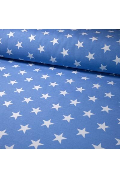 Küçükçalık Yıldızlı Mavi Panama Keteni