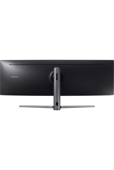 """Samsung LC49HG90DMRXUF 49"""" 144Hz 1ms (2xHDMI+Display+Mdisplay) FreeSync HDr QLED Va LED Monitör"""