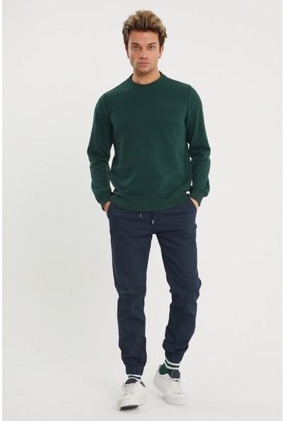 Point Shop Slim Fit Bağcıklı, Paça Lastikli Esnek Kumaş Erkek Jogger Pantolon