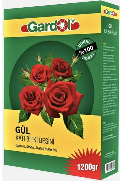 Gardol Gül Için Katı Gübre 1200 gr Güllerimizin Ihtiyacı Olan Tüm Besin Maddelerini Sağlar