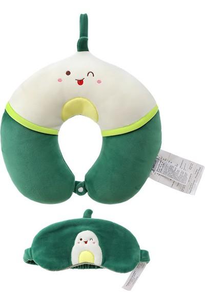 Miniso Boyun Yastığı Avokado