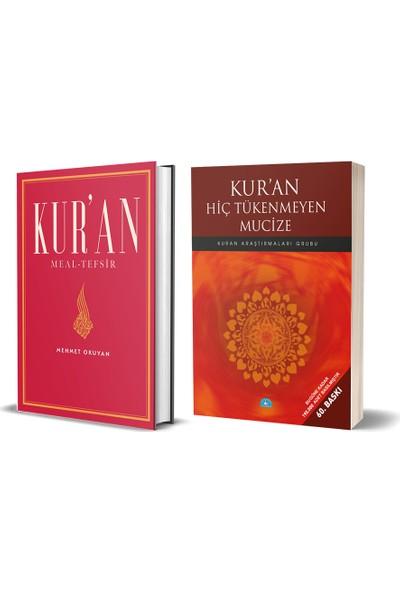 Kur'an Meal - Tefsir & Kur'an Hiç Tükenmeyen Mucize 2 Kitap Set - Mehmet Okuyan