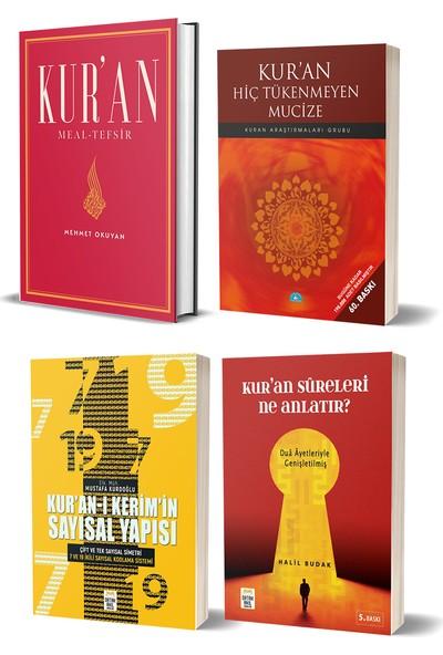 Kur'an Meal - Tefsir & Kur'an Hiç Tükenmeyen Mucize & Kur'an'ı Kerim'in Sayısal Yapısı & Kur'an Sureleri Ne Anlatır - Mehmet Okuyan