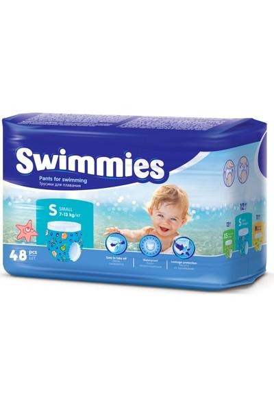 Swimmies 7 - 13 kg S Beden 48'li Mayo Bez