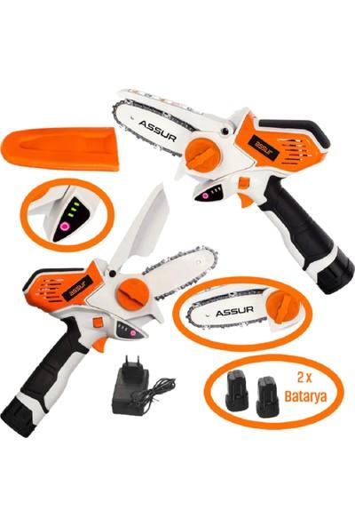 Assur Orange Saw Full Akülü Dal Kesme Testere Makinası