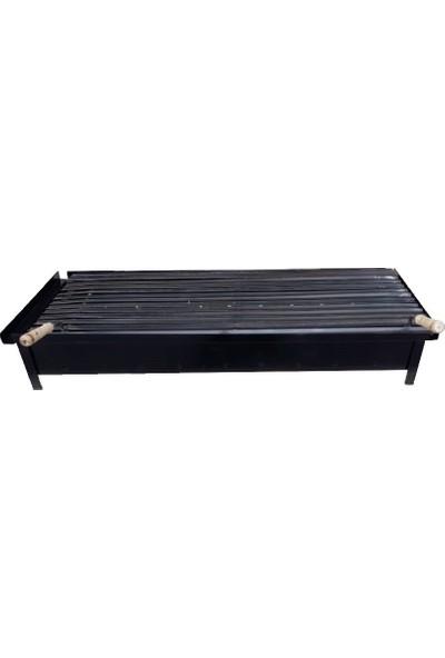 İklim 40X100 Balkon Mangalı Şömine Içi Mangal Tezgah Manalı