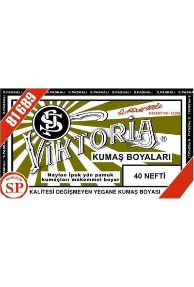 Viktoria 40 Kumaş Boyası Nefti 3'lü
