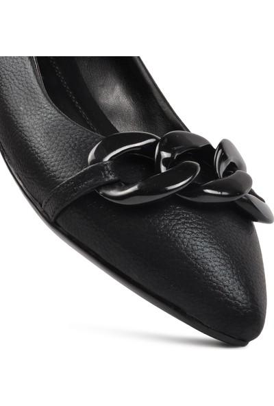 Park Fancy 10 Siyah K.rugan Kadın Günlük Ayakkabı