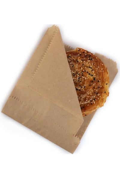 Anadolu Kağıtçılık Hamburgerlik-Yandan Açık Çizgisiz Şamua 40 G Kraft Kese Kağıdı Ithal 15 x 20 cm 10 kg 2000 Adet