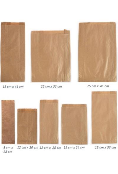 Anadolu Kağıtçılık Çizgisiz Şamua 40 G Kraft Kese Kağıdı Ithal 15 x 33 cm 10 kg 1440 Adet