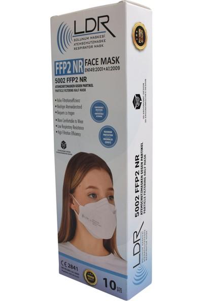 Ldr 5002 Ffp2 Nr Maske Ventilsiz 10'lu
