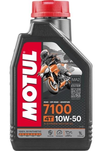 Motul 7100 4t 10W50 Tam Sentetik 1l Motor Yağı